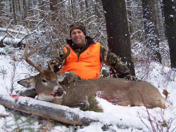 Whitetail Deer Hunting Photo